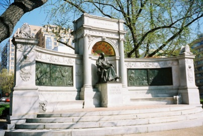 The Hahnemann Monument